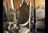 Купить старинные стулья и кресла