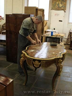 Цена реставрации антикварной мебели