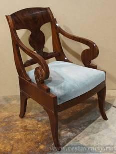 Цена реставрации кресла