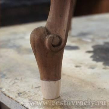 Способы нарастить ножку стула