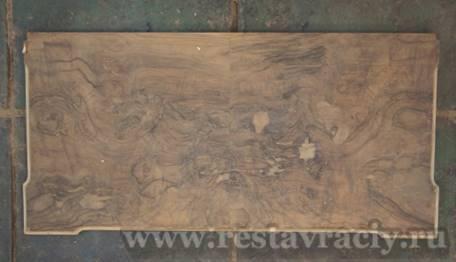 Восстановления утраченных участков столешницы стола ломберного 19 века