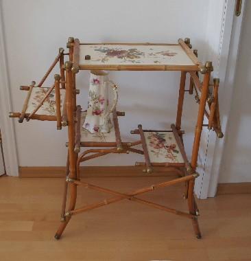 Ремонт и реставрация мебели из бамбука. Старой, старинной, антикварной. Выезд мастера.