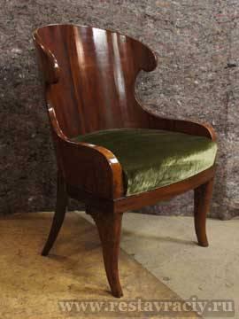 Кресло-корытце 19 века