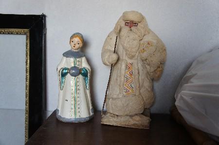 Реставрация деда Мороза из ваты