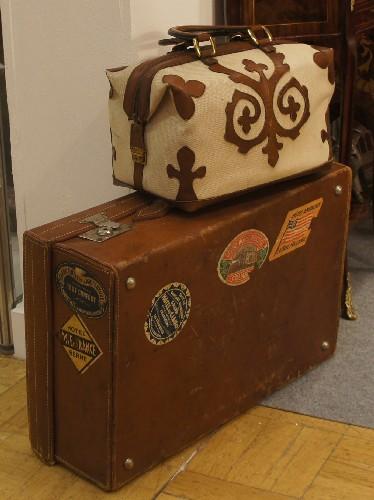 Реставрация чемодана, сумки