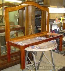 Переделка старой мебели