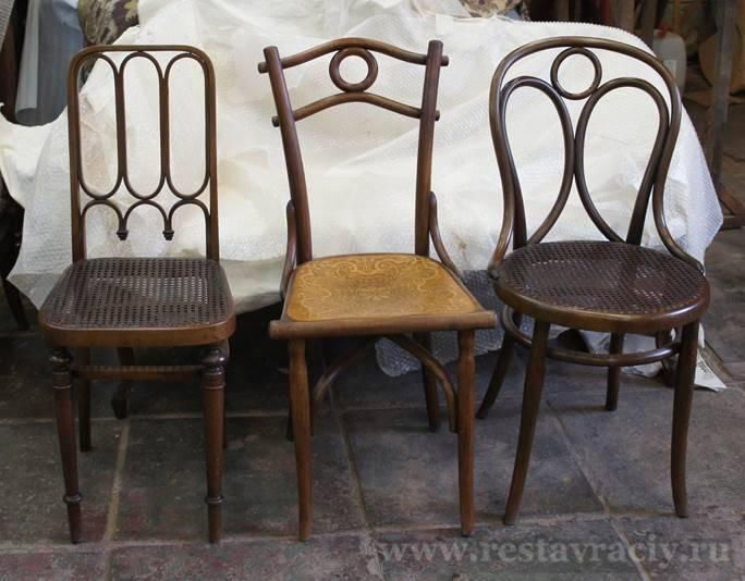Венские стулья (стул венский) после реставрации
