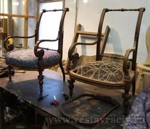 Венский мягкий стул