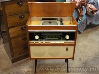 Реставрация радиолы