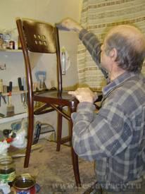 Реставрация собственной мебели