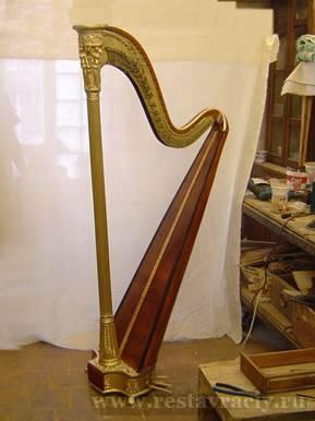 Реставрация и ремонт музыкальных инструментов
