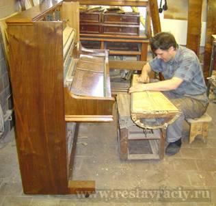 Реставрация и ремонт пианино
