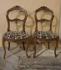 Старинная мебель до реставрации