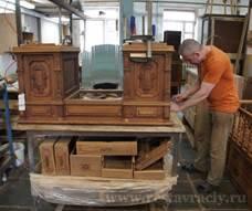 Реставрация старинного стола
