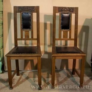 Старинные стулья до реставрации