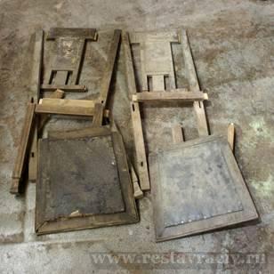 Старинные стулья после реставрации