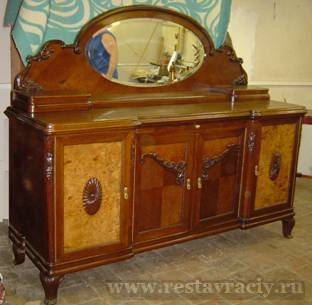 Реставрация не старой мебели
