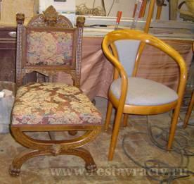 Реставрация не старой стульев