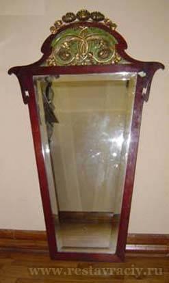 Реставрация зеркала модерн