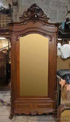 шкаф после реставрации