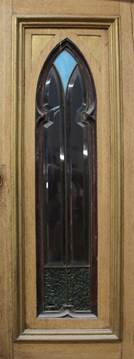 Застеклённые двери