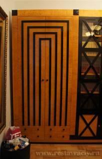 Двери со стеклянным вставками