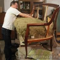 Реставрация и перетяжка мягкой мебели