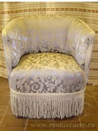 Обивка и перетяжка кресла