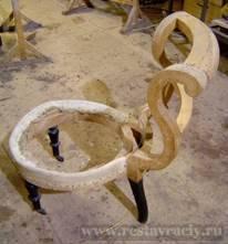 Ремонт кутаного кресла