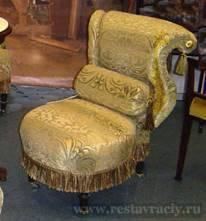 Реставрация кресла кутаного