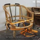 Склейка кресла