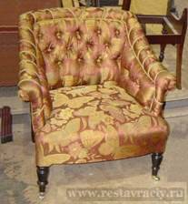 Цена перетяжки кресла