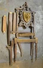 Реставрационные работы стул