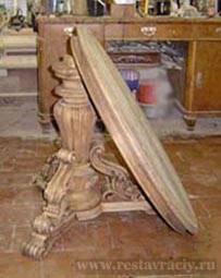 Реставрация мебели из дерева