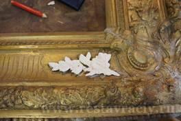 реставрация багета для картин