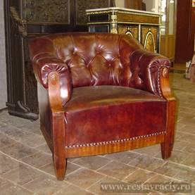 Кресло кабинетное пружинное