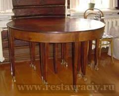 Ремонт и реставрация стола