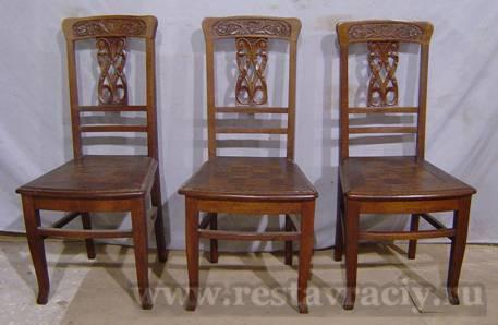 Реставрация деревянных стульев