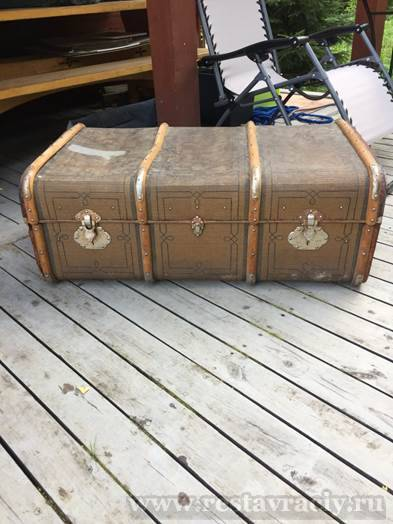 Реставрация чемодана
