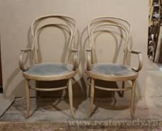 Венские стулья в процессе реставрации