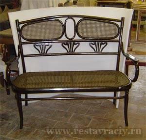 Ротанговая мебель реставрация